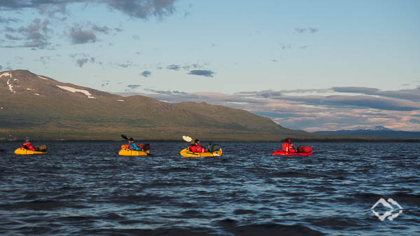 Packrafting Expeditionskurs Sylan Mountains